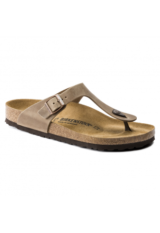 GIZEH CUIR GRAS TABACCO BROWN