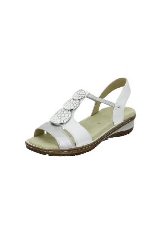 Nu-pieds HAWAI bijoux blanc...