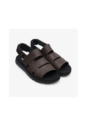 Oruga sandal marron