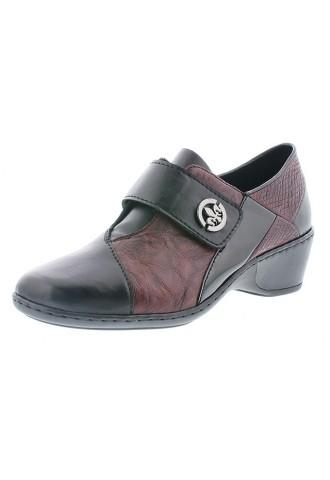 Chaussure noire bordeaux/...